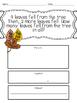 Thanksgiving Break Math Homework Packet