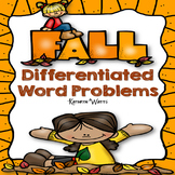 Fall Word Problems