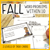 Fall Word Problems Within 10