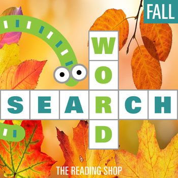 Fall Word Search - Primary Grades - Wordsearch Puzzle