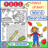 Fall Word Searches - Primary {Gr 1-3}