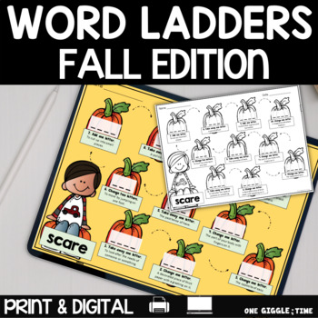 Fall Word Walk Pack