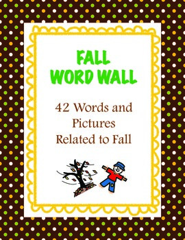 Fall Word Wall