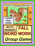 """""""Fall Word Work Game!"""" - Active Vocabulary Fun!"""