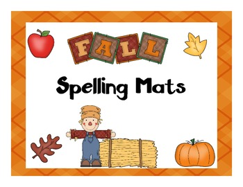 Fall Words Spelling