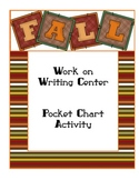 Fall Words for Writing Center