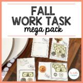 Fall Work Task Mega Pack