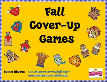 Fall Workmats for Math Stations