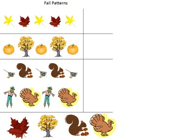 Fall Worksheet Pack