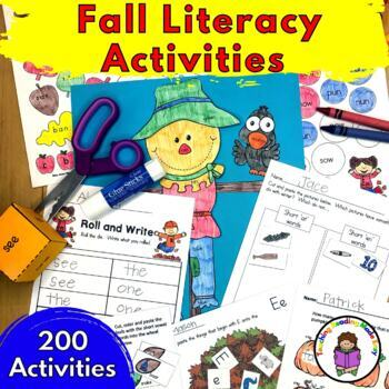 Fall Kindergarten Activities