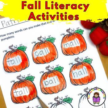 Fall Kindergarten Activities