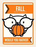 Fall Would You Rather