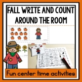 Fall Write and Count Around the Room