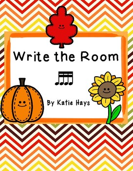 Fall Write the Room-16th Note Edition
