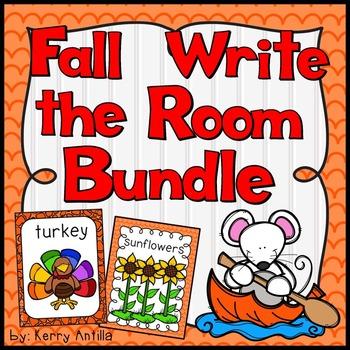 Fall Write the Room Bundle