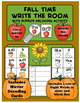 Fall Write the Room with Mirror Decoding Activity