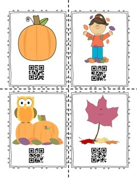 "Fall ""Write the Room"" with QR Codes"