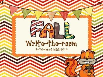 Fall Write-the-room