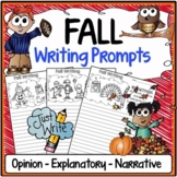 Fall Writing Prompts {Narrative Writing, Informative & Opinion Writing}