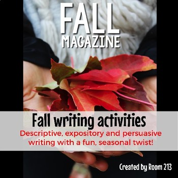 Fall Writing Activities for Secondary Students {Digital}