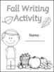 Fall Writing Activity sheets- Alphabet Tracing