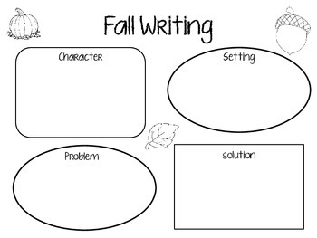 Fall Writing Activity/Graphic Organizer