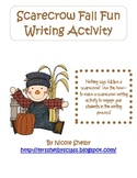 Fall Writing Activity: How to Make a Scarecrow