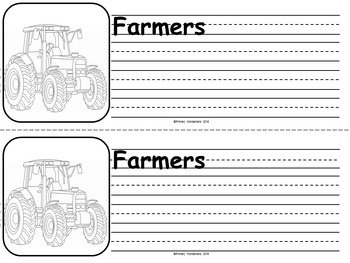Fall Writing Activity Primary Booklet