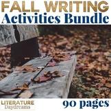 Fall Writing Activties Bundle