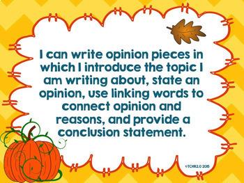 Fall Writing Bundle