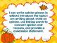 Fall Writing Bundle Scarecrows Halloween Autumn Opinion Na