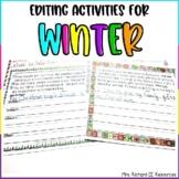Winter Editing Sentences