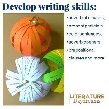 Fall Writing Craft Activity