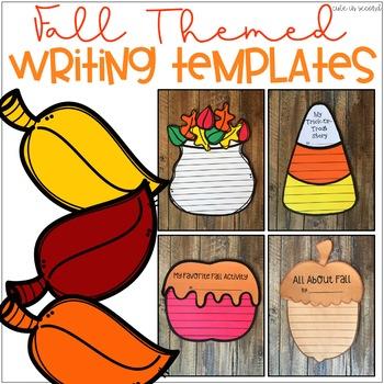 Fall Writing Craft Templates