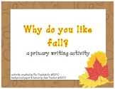 "Fall Writing ""Craftivity"""