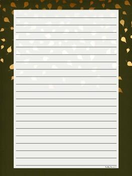 Fall Writing Paper *Freebie*