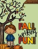 Fall Writing Fun!