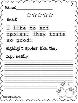 Free Handwriting Worksheets & Printables | blogger.com