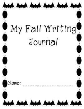 Fall Writing Journal