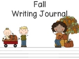 Fall Writing Journal Set (K-1)