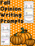 Fall Writing Opinion Prompts First Grade