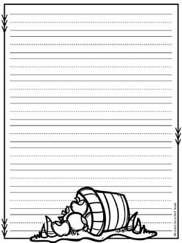 Fall Writing Paper!!