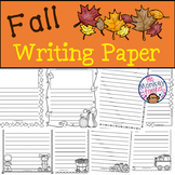 Fall Writing Paper
