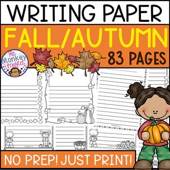 Fall Writing Paper