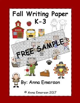 Fall Writing Paper FREE SAMPLE