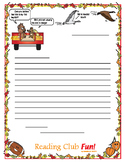 Free Fall Writing Paper (Lined and unlined)