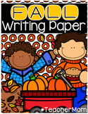 Fall Writing Paper Pack