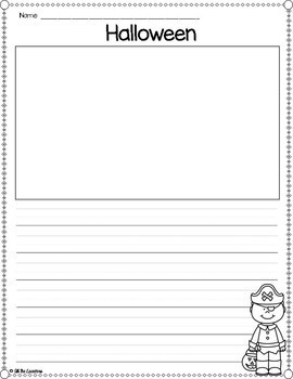 Fall Writing Paper Templates