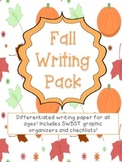 Fall Writing Paper and Graphic Organizer