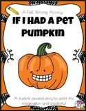 Fall Writing Pet Pumpkin